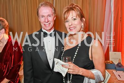 Bob Nelson, Carol Nelson. Starlight Taste of the Stars Gala. Four Seasons Georgetown. November 19, 2011. Photo by Alfredo Flores