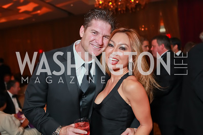 Bob Marshall, Teresa Marshall Starlight Taste of the Stars Gala. Four Seasons Georgetown. November 19, 2011. Photo by Alfredo Flores
