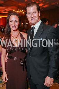 Kristin Rae Cecchi, John Cecchi. Starlight Taste of the Stars Gala. Four Seasons Georgetown. November 19, 2011. Photo by Alfredo Flores