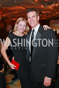 Cid Szegedy, Daryl Judy. Starlight Taste of the Stars Gala. Four Seasons Georgetown. November 19, 2011. Photo by Alfredo Flores