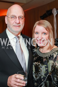 Alastair Lawson, Coleen Klasmeier. Starlight Taste of the Stars Gala. Four Seasons Georgetown. November 19, 2011. Photo by Alfredo Flores