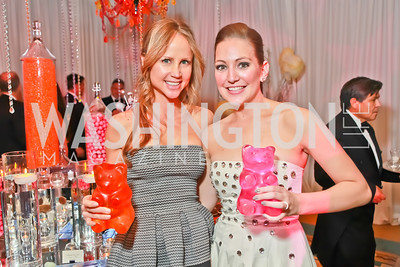 Jocelyn Greenan, Sara Lange. Starlight Taste of the Stars Gala. Four Seasons Georgetown. November 19, 2011. Photo by Alfredo Flores