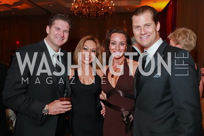 Bob Marshall, Teresa Marshall, Kristin Rae Cecchi, John Cecchi. Starlight Taste of the Stars Gala. Four Seasons Georgetown. November 19, 2011. Photo by Alfredo Flores