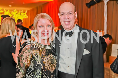 Coleen Klasmeier, Paul E. Kalb. Starlight Taste of the Stars Gala. Four Seasons Georgetown. November 19, 2011. Photo by Alfredo Flores
