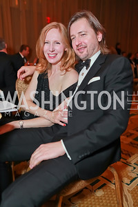 Juleanna Glover, Christopher Reiter. Starlight Taste of the Stars Gala. Four Seasons Georgetown. November 19, 2011. Photo by Alfredo Flores
