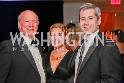 Michael Huber, Lauren Huber, RIck Zullo. Starlight Taste of the Stars Gala. Four Seasons Georgetown. November 19, 2011. Photo by Alfredo Flores