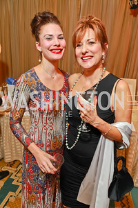 Caitlyn Nelson, Carol Nelson. Starlight Taste of the Stars Gala. Four Seasons Georgetown. November 19, 2011. Photo by Alfredo Flores
