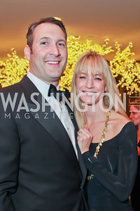 David Pollin, Kirsten Pollin. Starlight Taste of the Stars Gala. Four Seasons Georgetown. November 19, 2011. Photo by Alfredo Flores