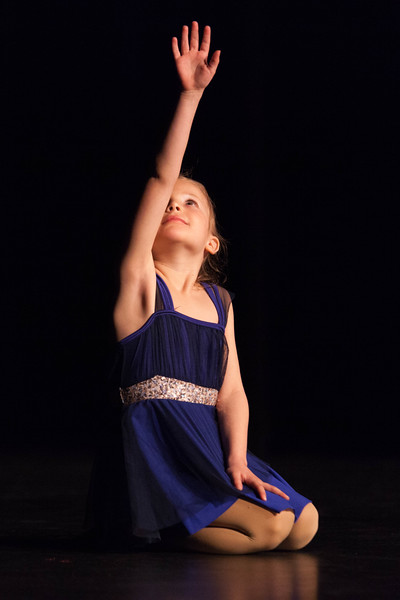 Tibby McDowell | The Sheridan Press<br /> <br /> Gracee Tellez begins her dance performance during auditions for Stars of Tomorrow at Wyo Performing Arts and Education Center Tuesday Jan. 30, 2018.