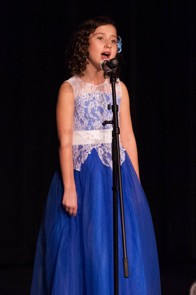 Tibby McDowell | The Sheridan Press<br /> <br /> Navaeh Harbour sings for auditions into the Stars of Tomorrow at Wyo Performing Arts and Education Center Tuesday Jan. 30, 2018.