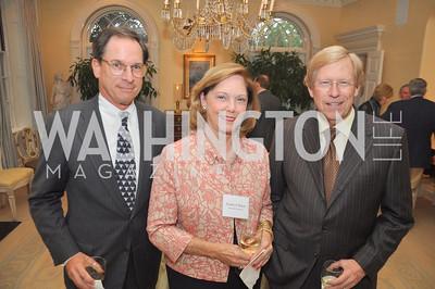 Geoffrey and Kathryn Baker, Ted Olson