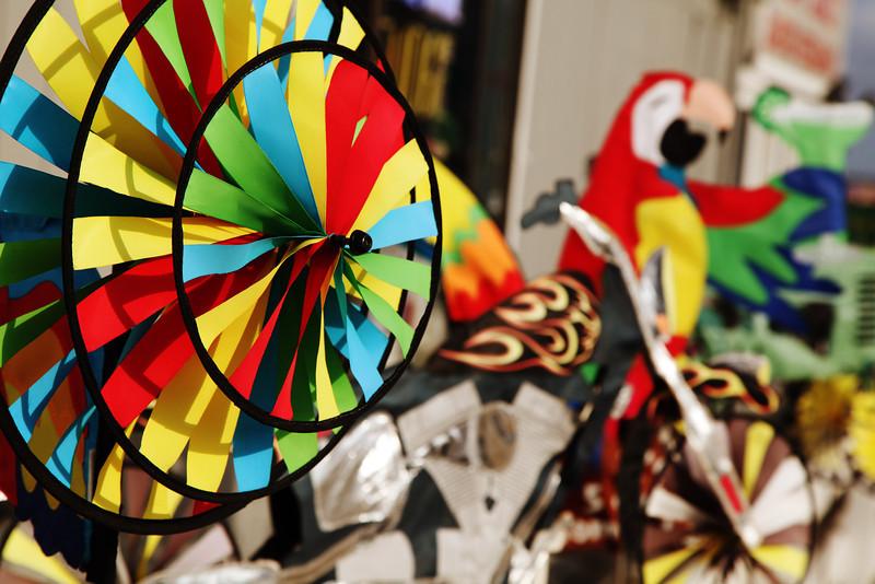Colorful Pinwheel Atmosphere