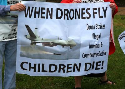 Stop Arm Drones CIA Protest