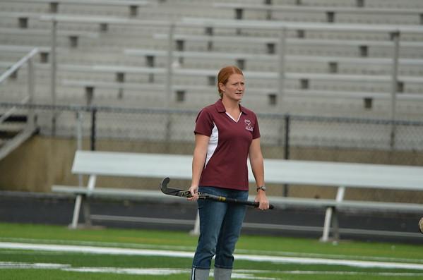 Varsity Girls Field Hockey Senior Night 2012