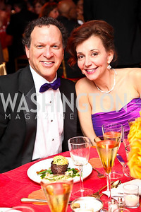 Montgomery County Economic Development Director Steve Silverman and Sheila Silverman. Strathmore Gala. Photo by Tony Powell. April 16, 2011