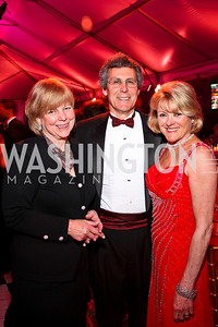 Montgomery County Council Member Nancy Floreen, Peter and Ineke Kreeger. Strathmore Gala. Photo by Tony Powell. April 16, 2011