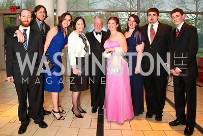 Pfanstiehl Family. Strathmore Gala. Photo by Tony Powell. April 16, 2011