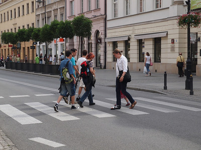 Street photography from Warsaw. Photo: Martin Bager.