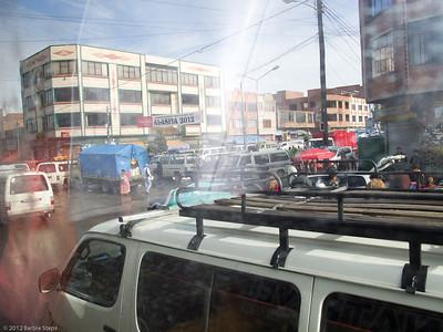 Traffic chaos !