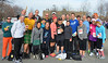 A portion of the many Striders who ran at the festive Celtic Solstice.