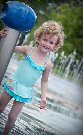 Evelyn - Summer Splash Pad