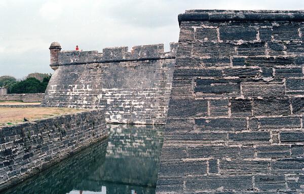 castle walls & moat
