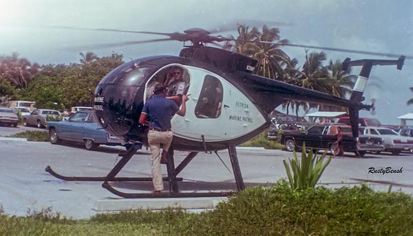 Marine Patrol chopperJuly82