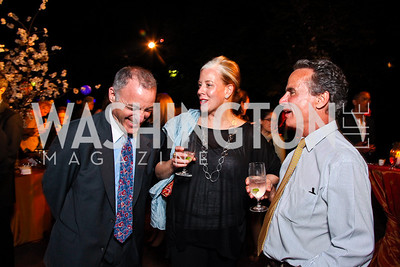 Hal Moskowitz, Stacy Cavanagh, Eldridge Bermingham, Photo by Tony Powell. Sundance Film Forward Gala. Smithsonian Castle. May 12, 2011