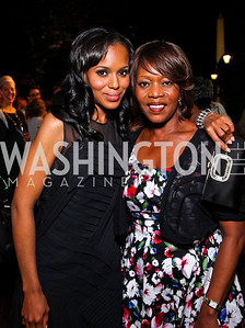 Actresses Kerry Washington, Alfre Woodard. Photo by Tony Powell. Sundance Film Forward Gala. Smithsonian Castle. May 12, 2011
