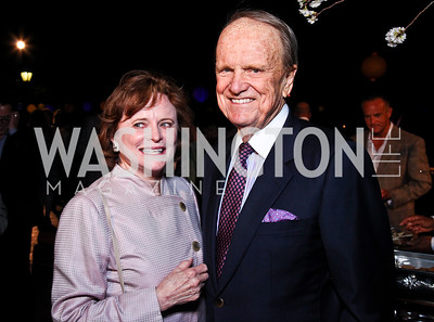 Elizabeth and George Stevens. Photo by Tony Powell. Sundance Film Forward Gala. Smithsonian Castle. May 12, 2011