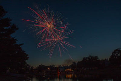 Sunnyview Lake Fireworks