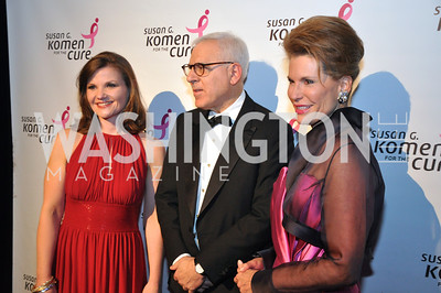 Nancy, Brinker, David, Rubenstein, Susan G. Komen Kennedy Center
