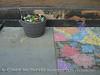 Sidewalk Art and Flowers 2