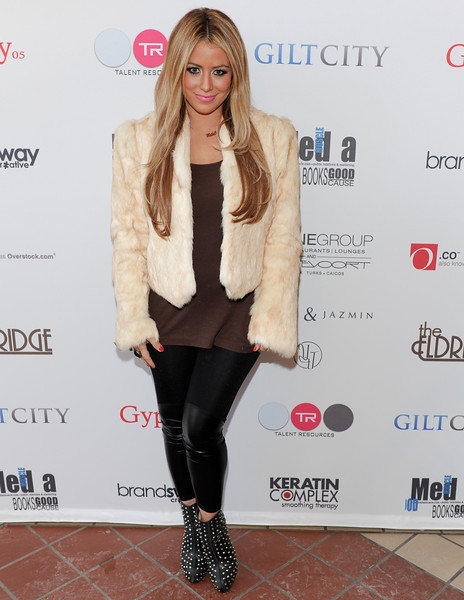 PARK CITY, UTAH - JANUARY 21: Singer Aubrey O'Day Attends the TR Suites at the Gateway Center on January 21, 2011 in Park City, Utah. (Photo by Joseph Bellantoni \In House Image)