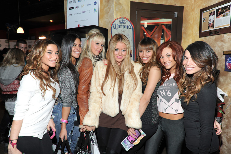 PARK CITY, UTAH - JANUARY 21: Members of The Pussycat Dolls Burlesque Revue, Singer Aubrey O'Day Attends the TR Suites at the Gateway Center on January 21, 2011 in Park City, Utah.(Photo by Joseph Bellantoni \In House Image)