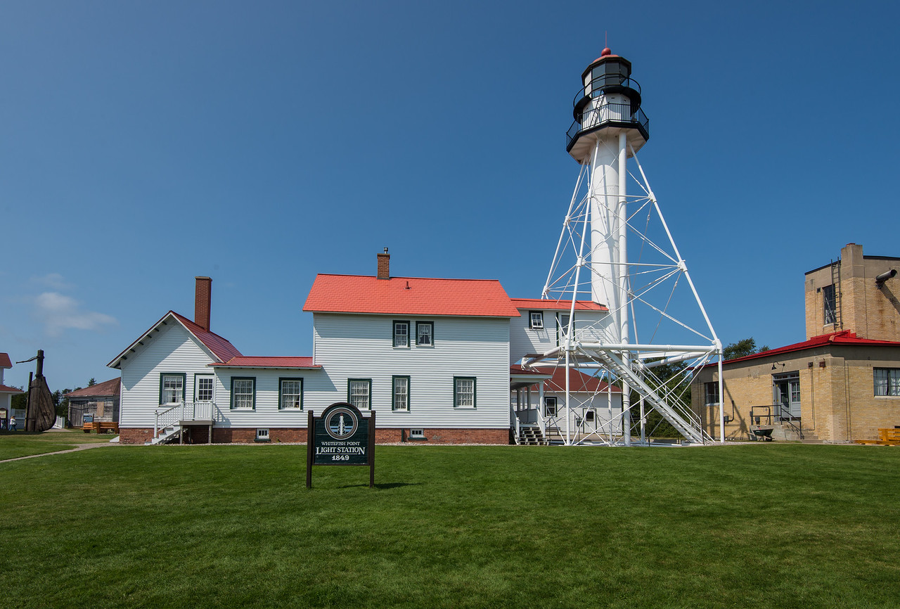Light Station at Whitefish Point, MI - August 2015