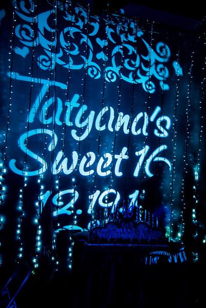Tatyana's Sweet 16