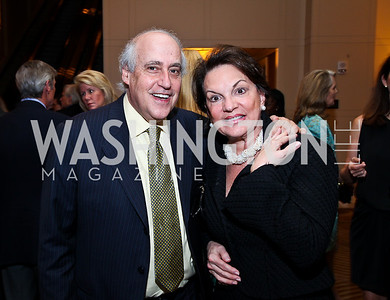 Dan Glickman, Grace Bender. Photo by Tony Powell. Teach for America Gala. Mandarin Oriental. May 17, 2011