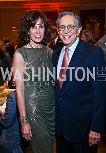 Beth and Ron Dozoretz. Photo by Tony Powell. Teach for America Gala. Mandarin Oriental. May 17, 2011