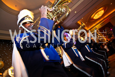 Ballou High School Marching Band. Photo by Tony Powell. Teach for America Gala. Mandarin Oriental. May 17, 2011