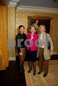 Adrienne Arsht,Christie Weiss,Lynda Webster,February 9,2011,Teach For America Book Party