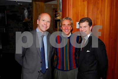 John Delaney, Jim Styer, Jeff Weiss, February 9,2011Teach for America book party,Kyle Samperton