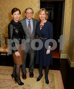 Adrienne Arsht,Ronald Dozoretz,Cathy Isaacson,February 9,2011,Teach For America Book Party
