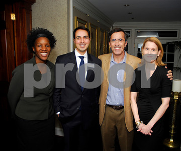 Nchole Hill,Stephen deMan,Steven Rales,Susan Weissman,February 9,2011,Teach for America book party,Kyle Samperton