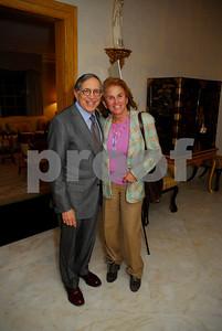 Ron Dozoretz, Liz Robbins, February 9,2011Teach for America book party,Kyle Samperton