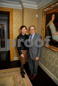 Adrienne Arsht,Ronald Dozoretz,February 9,2011,Teach For America Book Party