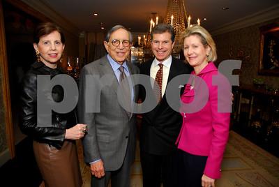 Adrienne Arsht,Ronald Dozoretz,Jeffery Weiss ,Christie Weiss,February 9,2011,Teach For America Book Party