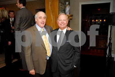 Dan Glickman, Sven Holmes,  February 9,2011Teach for America book party,Kyle Samperton