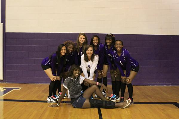 Senior Volleyball Players
