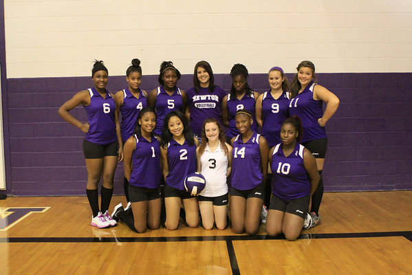 Freshmen Volleyball Team